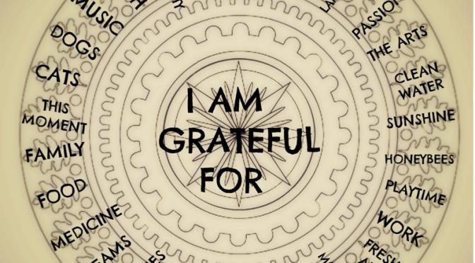 De kracht van dankbaarheid.